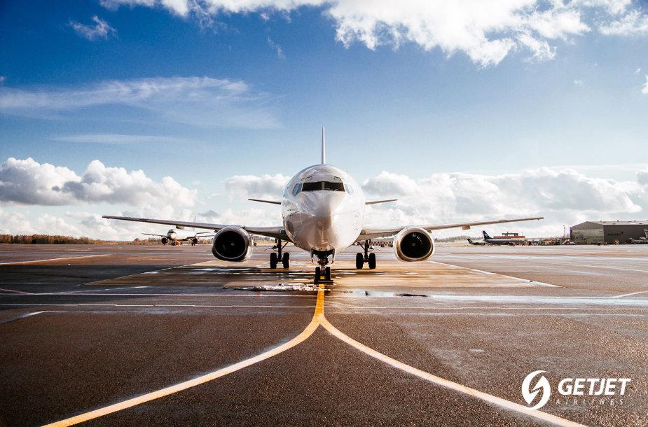 """GetJet Airlines"" lėktuvai ir įgula"