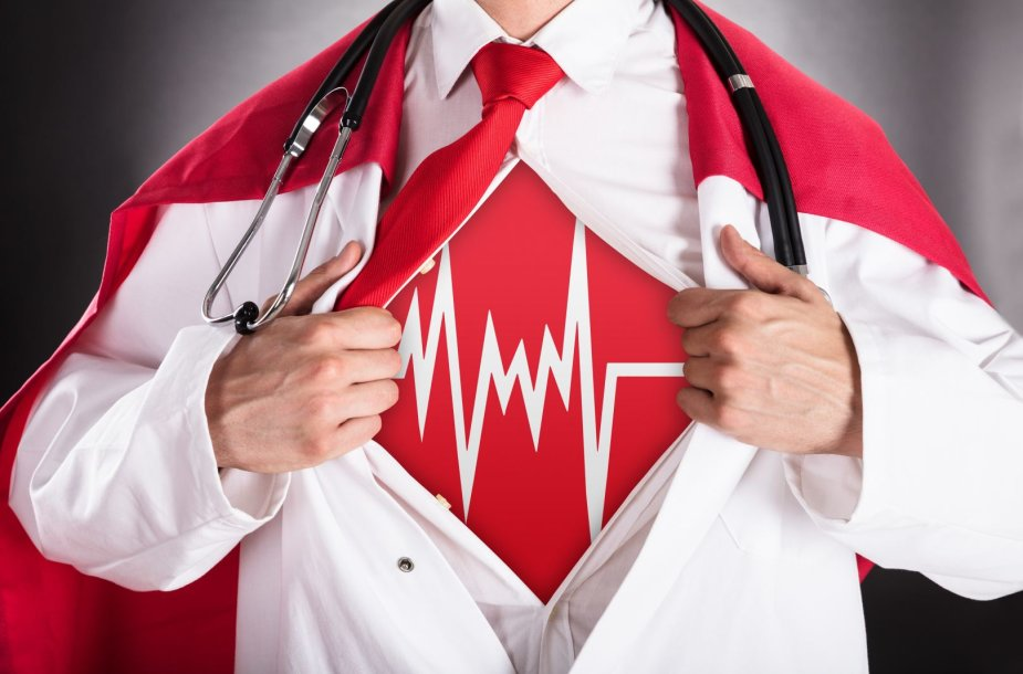Širdies ir kraujagyslių ligos puola vis jaunesnius žmones