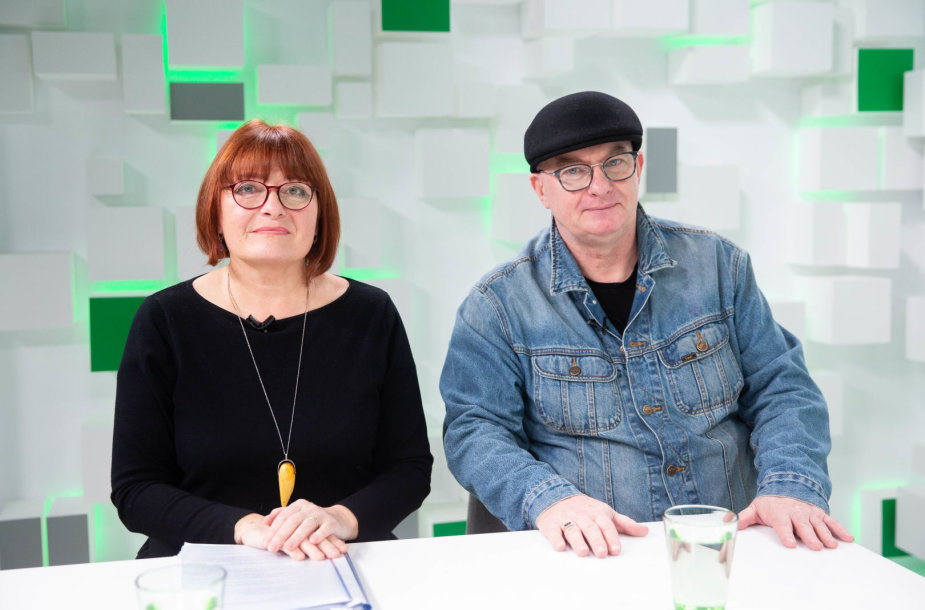 Gabrielė Naprušienė ir Algimantas Aleksandravičius