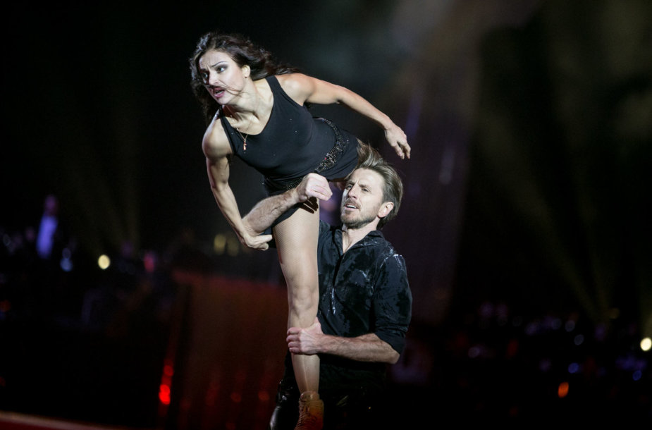 Povilas Vanagas ir Margarita Drobiazko
