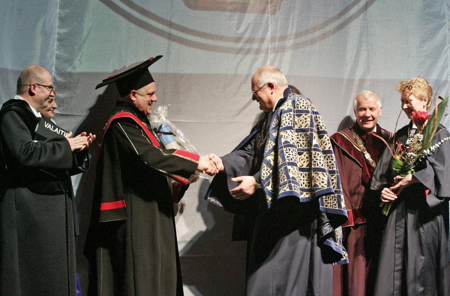 Rektoriaus Donato Jurgaičio inauguracija