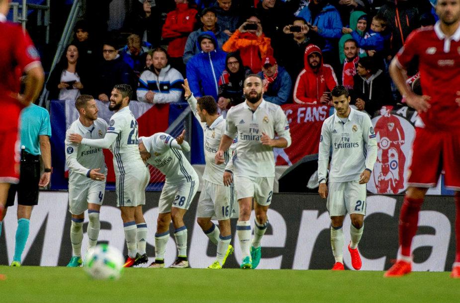 "Europos Supertaurė: Madrido ""Real"" – ""Sevilla"""