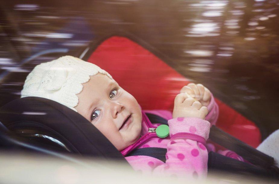 Kūdikis automobilyje