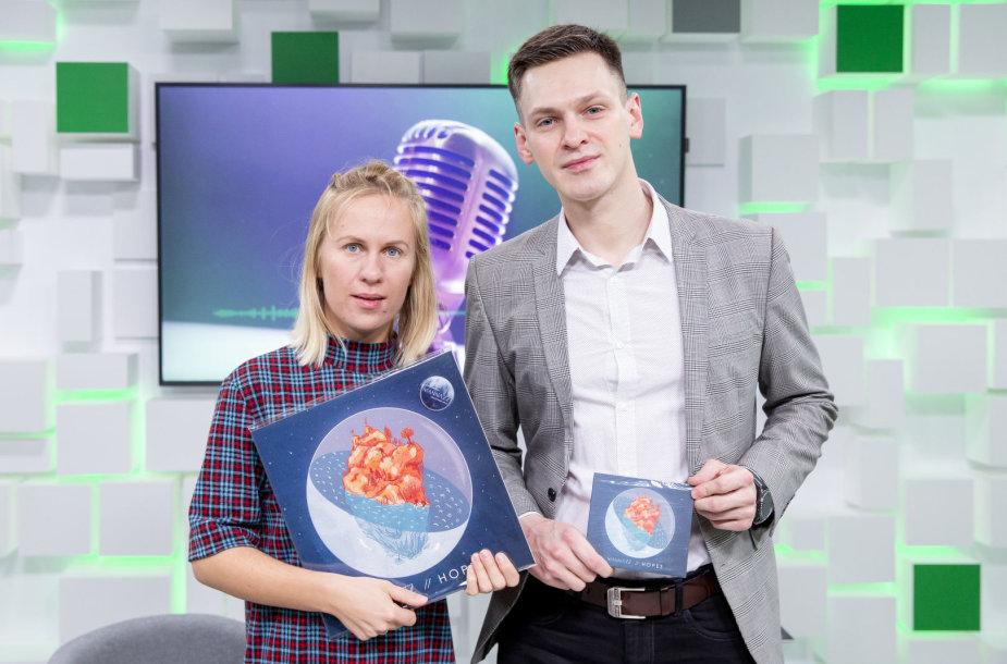 """15min studijoje – grupė """"MaNNazz"""" pristato eurovizinės dainos vaizdo klipą"""