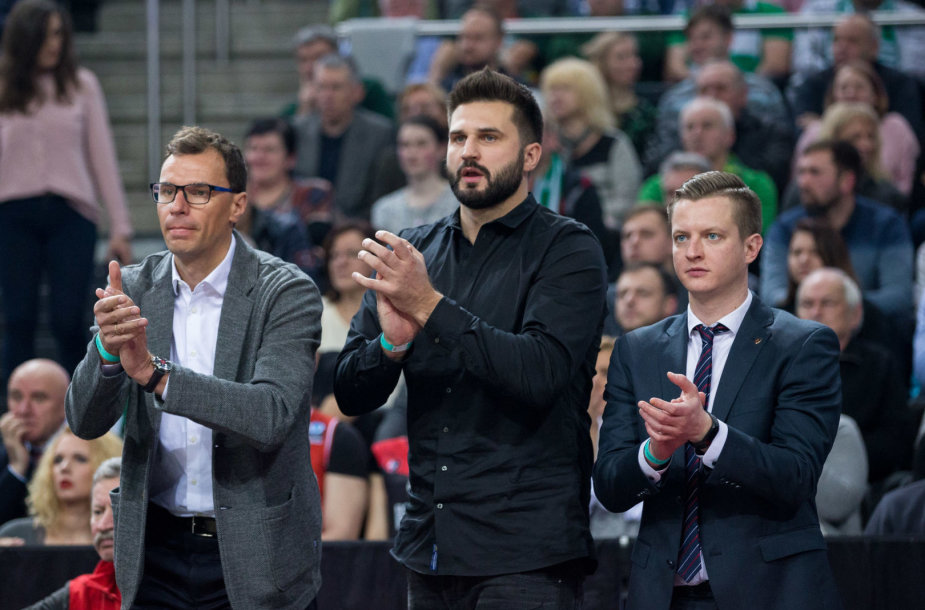 Darius Gudelis, Linas Kleiza ir Julius Sarapinas