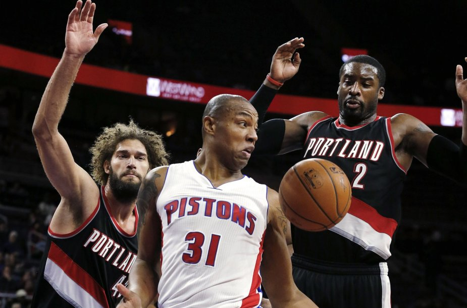 """Trail Blazers"" – ""Pistons"""