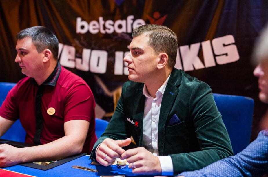 """Rolandas Mackevičius """"Betsafe Žvejo iššūkio"""" turnyre / Ryčio Šeškaičio nuotr."""