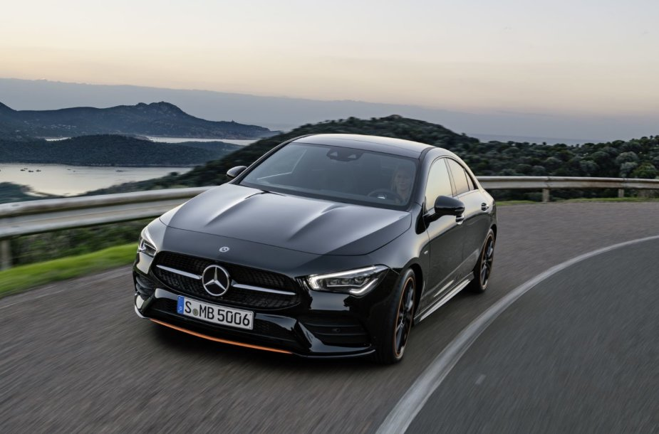 """Mercedes-Benz CLA Coupe"""