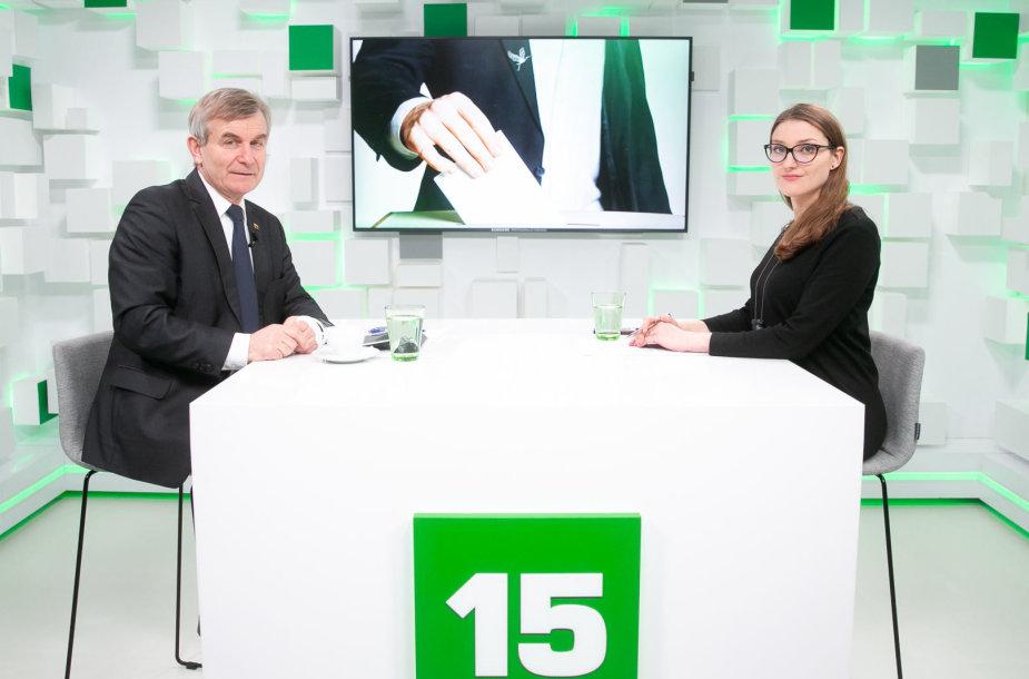 Viktoras Pranckietis ir Liepa Želnienė