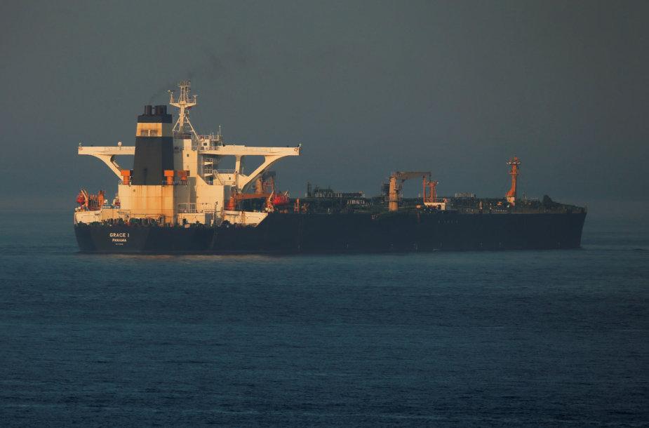 "Irano tanklaivis ""Grace 1"""