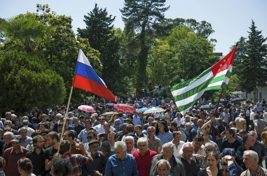 Protestas Abchazijoje