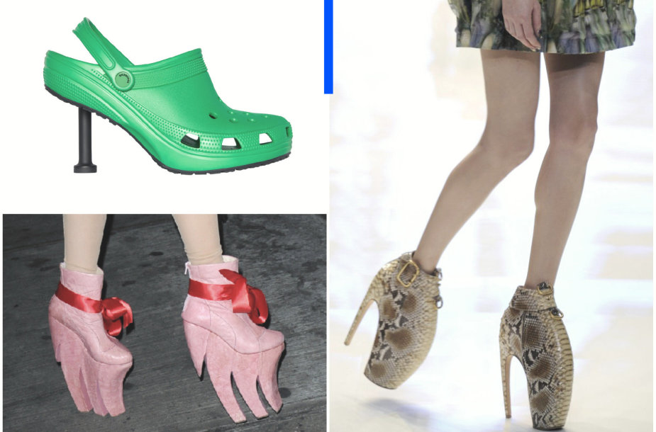 Keisčiausi batų modeliai