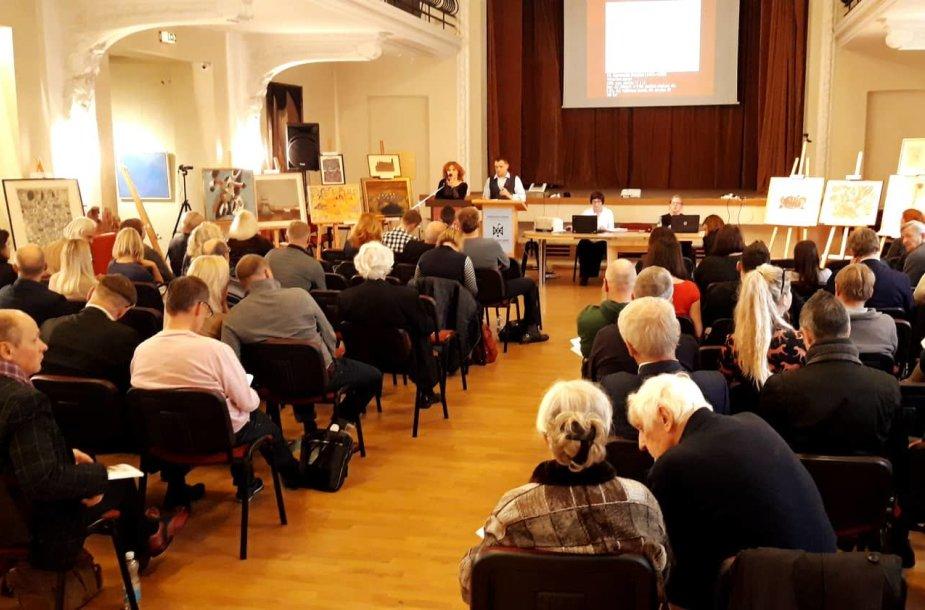 LIX Vilniaus aukciono akimirka