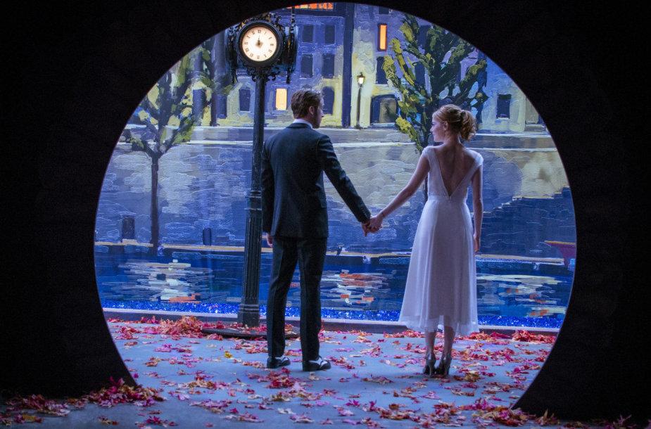 """Ryanas Goslingas ir Emma Stone filme """"Kalifornijos svajos"""""""
