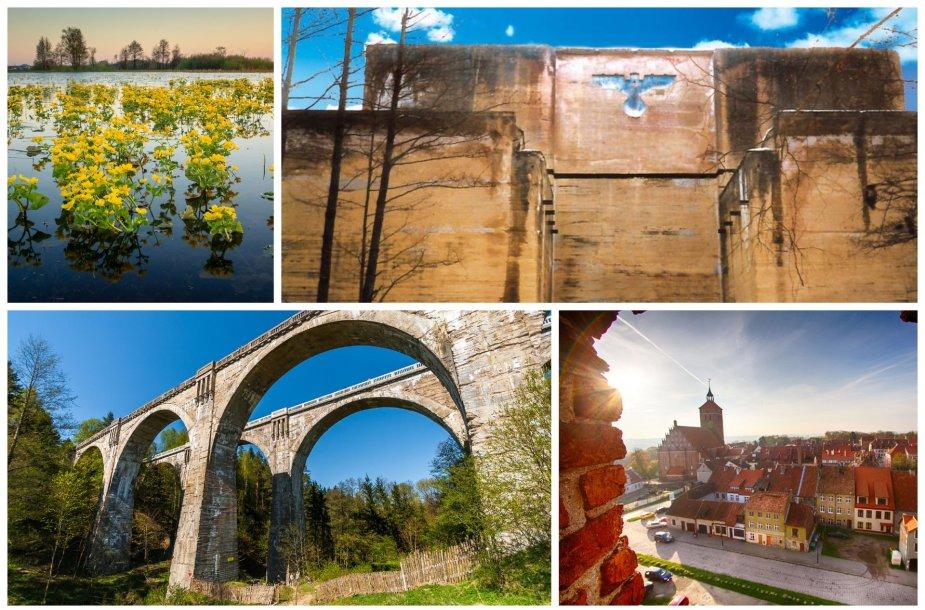 Keistos ir įdomios vietos šiaurės rytų Lenkijoje, netoli sienos su Lietuva