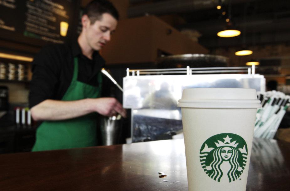 """""""Starbucks"""" kavinė Sietle"""