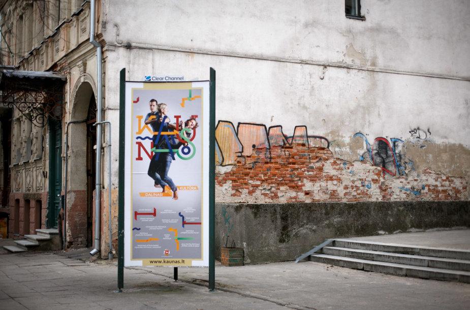 Lauko reklama Kaune