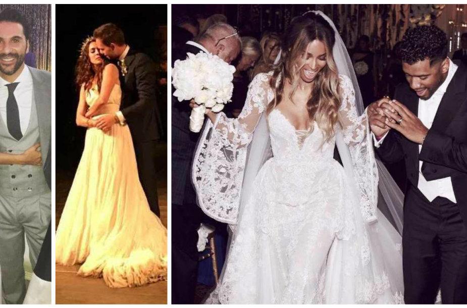 Įspūdingiausios pasaulio garsenybių vestuves 2016-aisiais