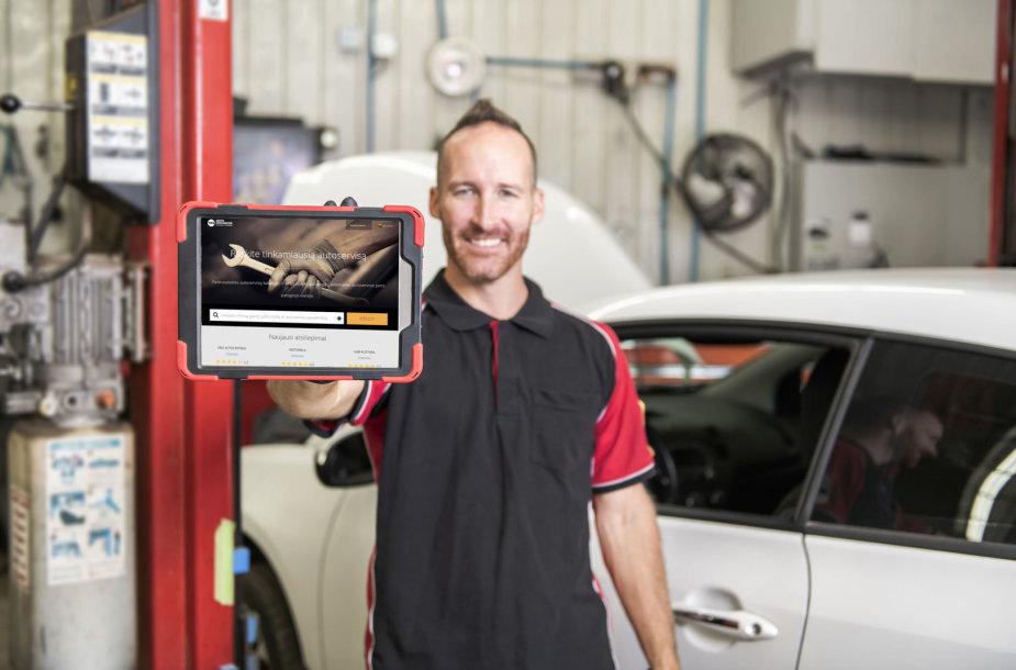 """Nauja paieškos sistema """"Motointegrator"""": autoservisų reitingus sudarys patys vairuotojai"""