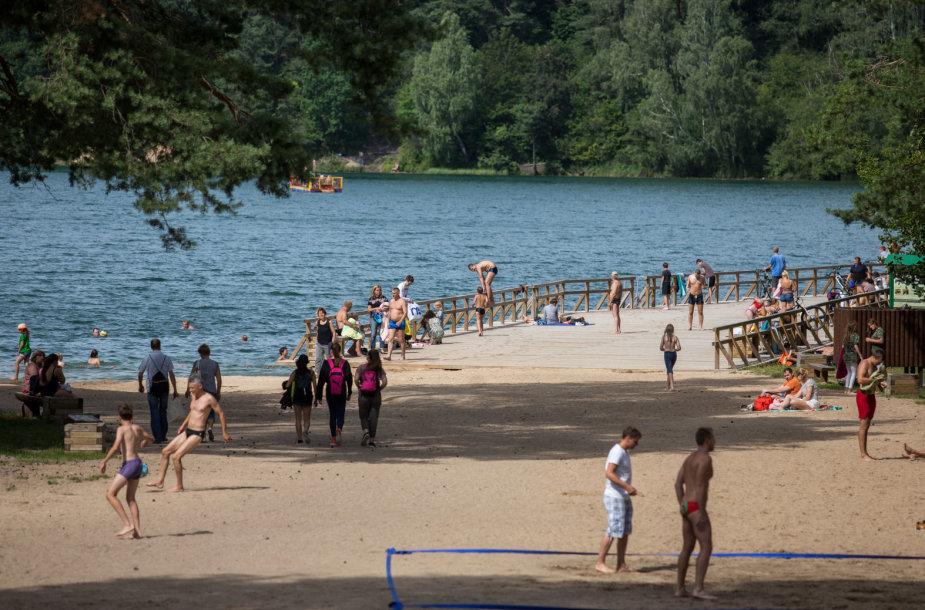 Šeštadienio popietė prie Žaliųjų ežerų