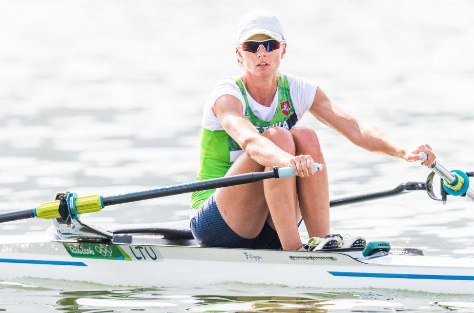 Lina Šaltytė į A finalą nepateko