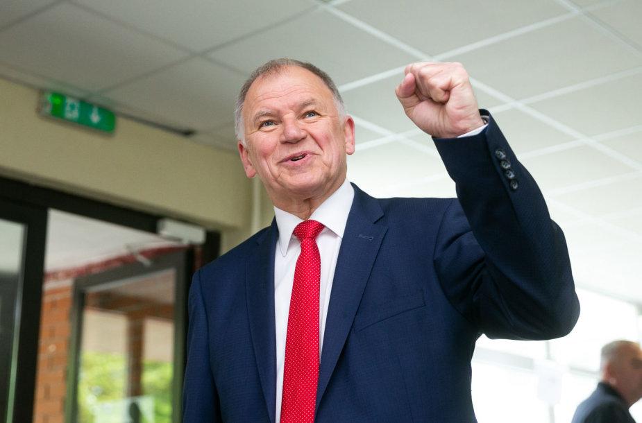 Vytenis Andriukaitis balsavo Prezidento rinkimuose