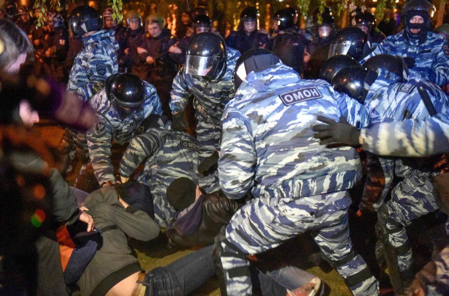 Tęsiasi neramumai Jekaterinburge