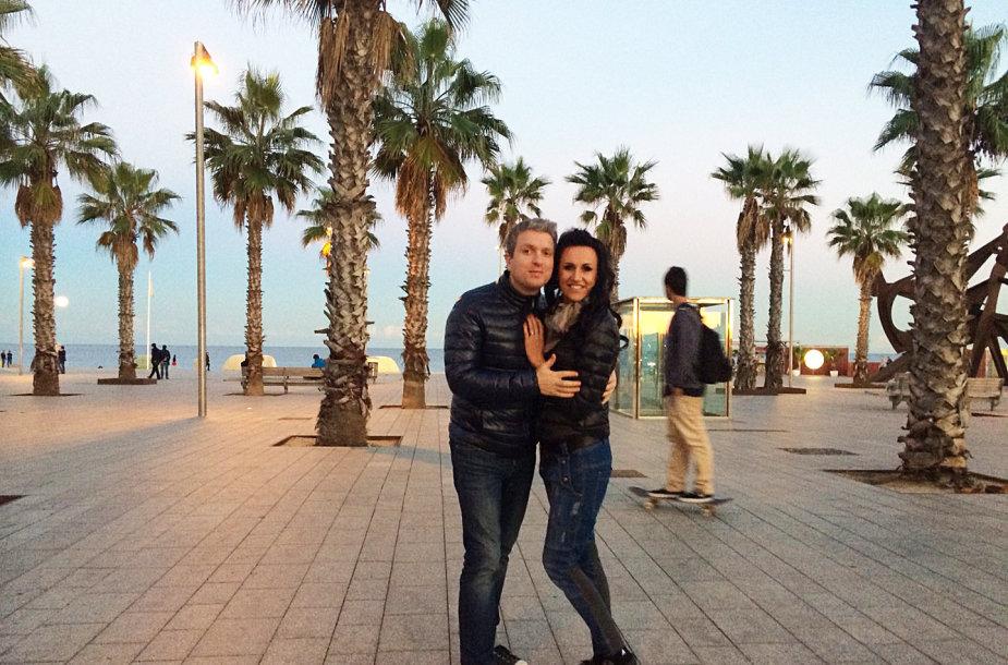 Katažina ir Deivydas Zvonkai