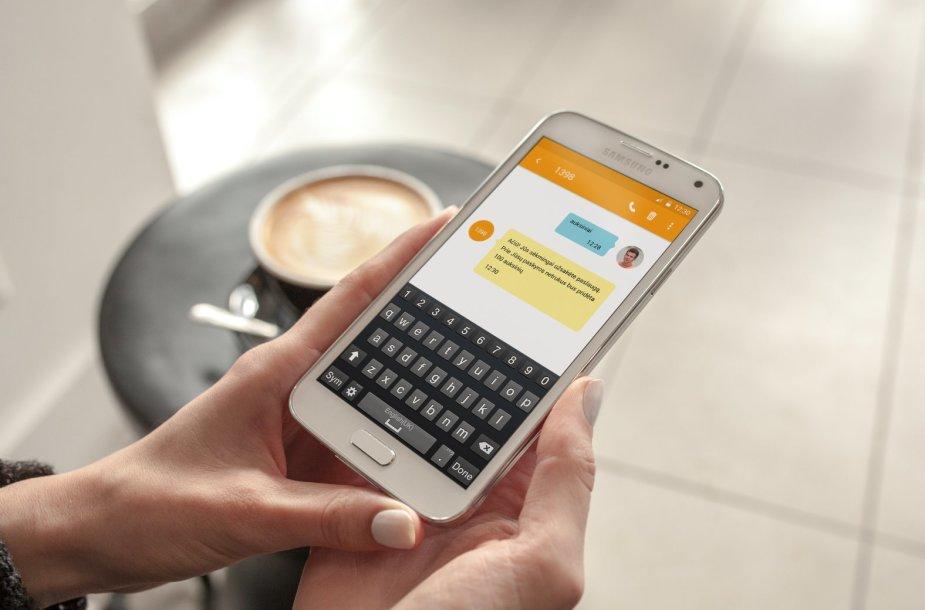 SMS mokėjimas