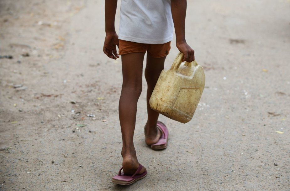 Vandens trūkumas Indijoje