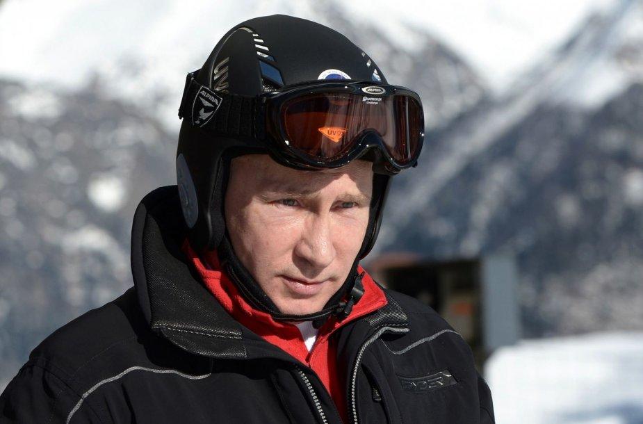 Vladimiras Putinas Sočyje