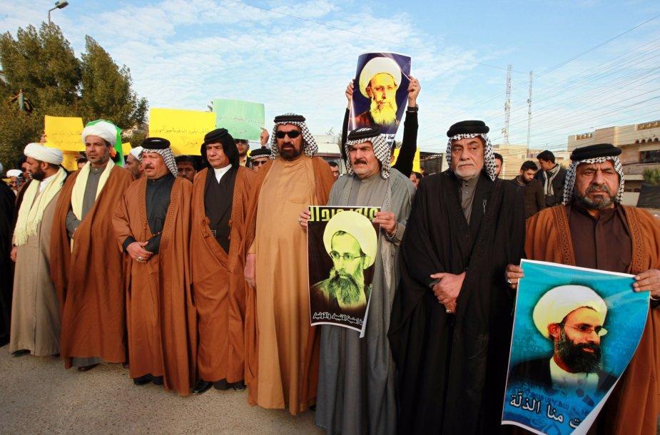 Po egzekucijos Saudo Arabijoje kilo pasipiktinimo banga ir Irake.