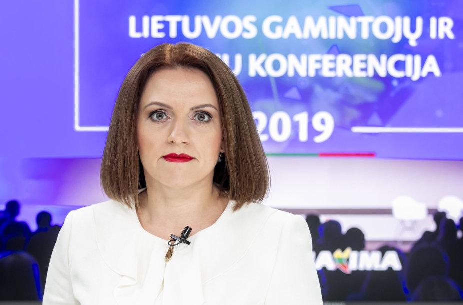 """15min studijoje – """"Maxima LT"""" komercijos vadovė Vilma Drulienė"""