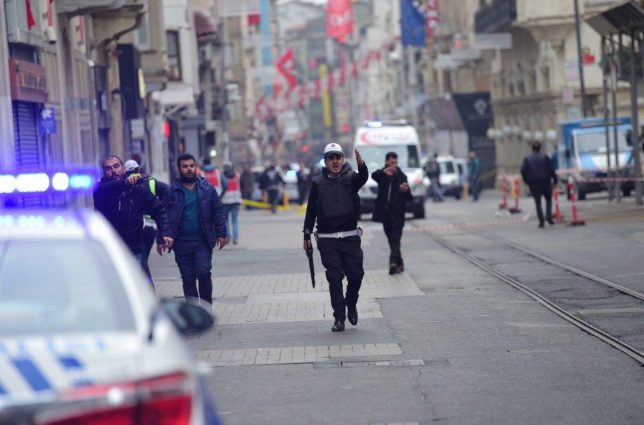Istiklal gatvė Stambule