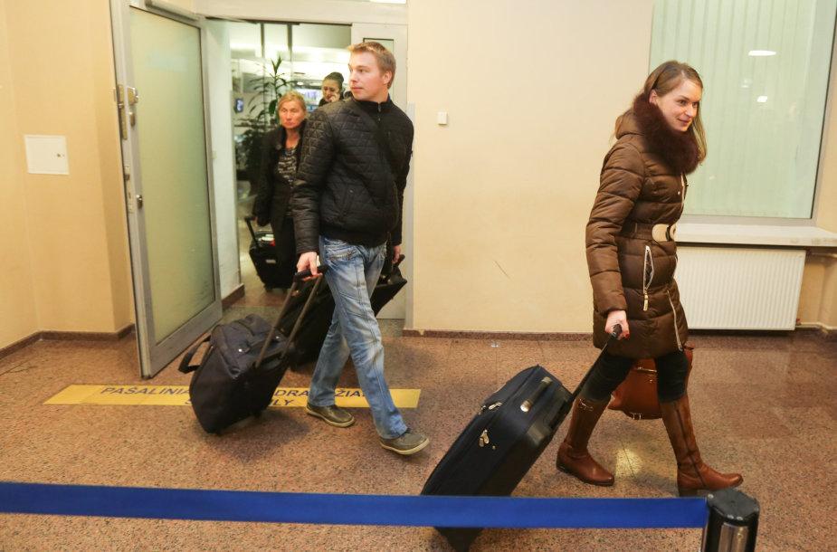Iš Egipto grįžo lietuviai