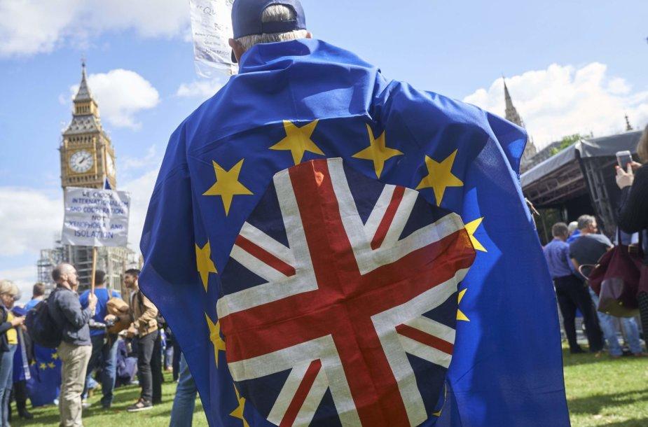 """Eisena prieš """"Brexit"""""""