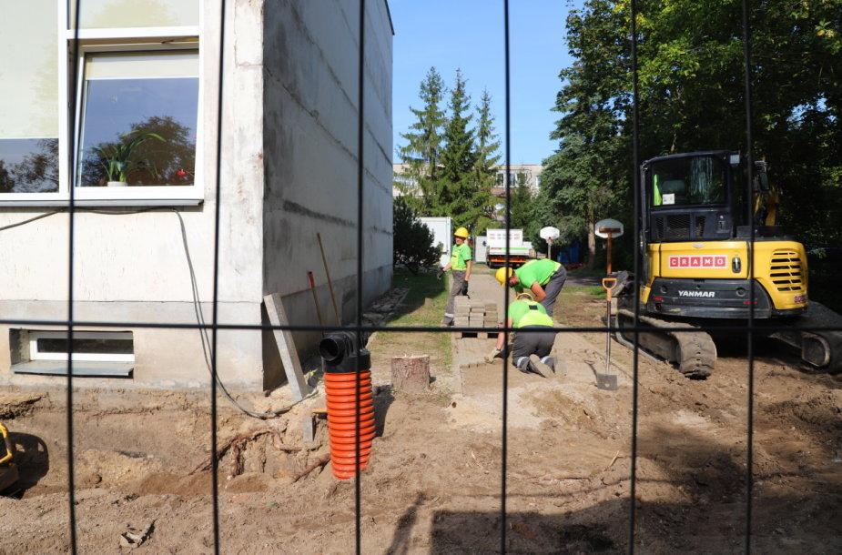 Pradedama Lapių lopšelio–darželio rekonstrukcija
