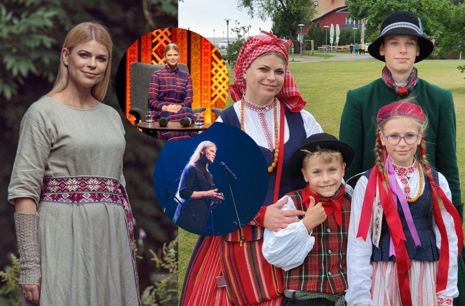 Loreta Sungailienė su vaikais