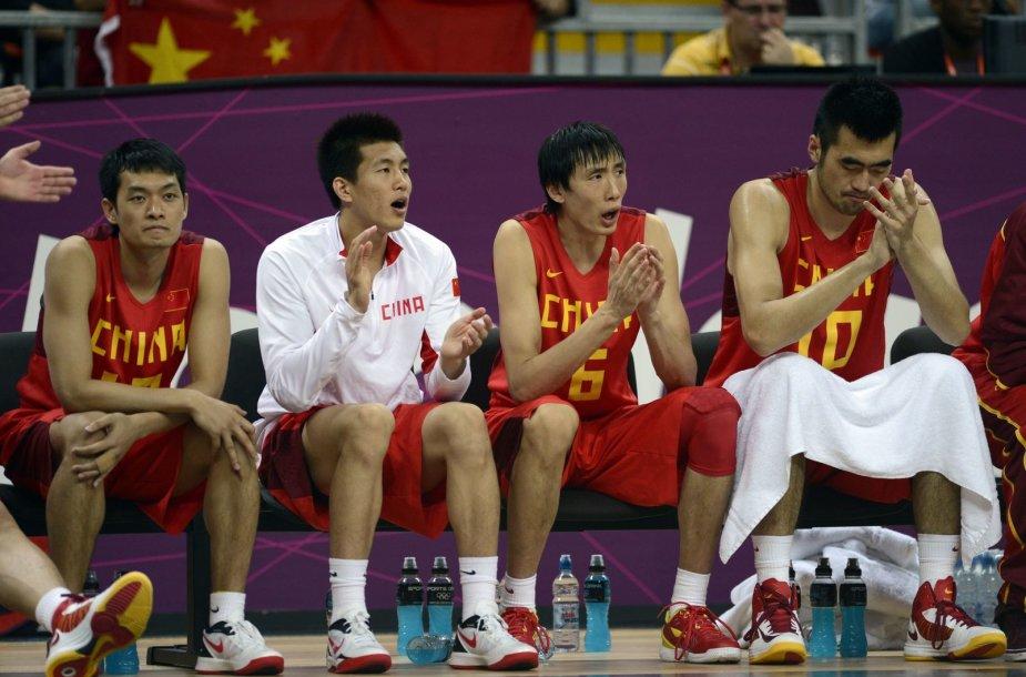 Kinijos krepšininkai