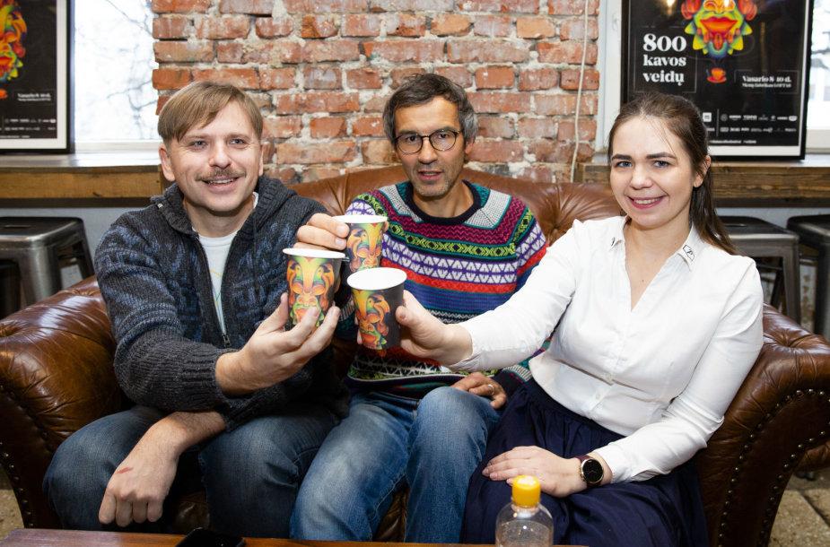 """Kavos festivalio """"Vilnius Coffee Festival"""" spaudos konferencija"""