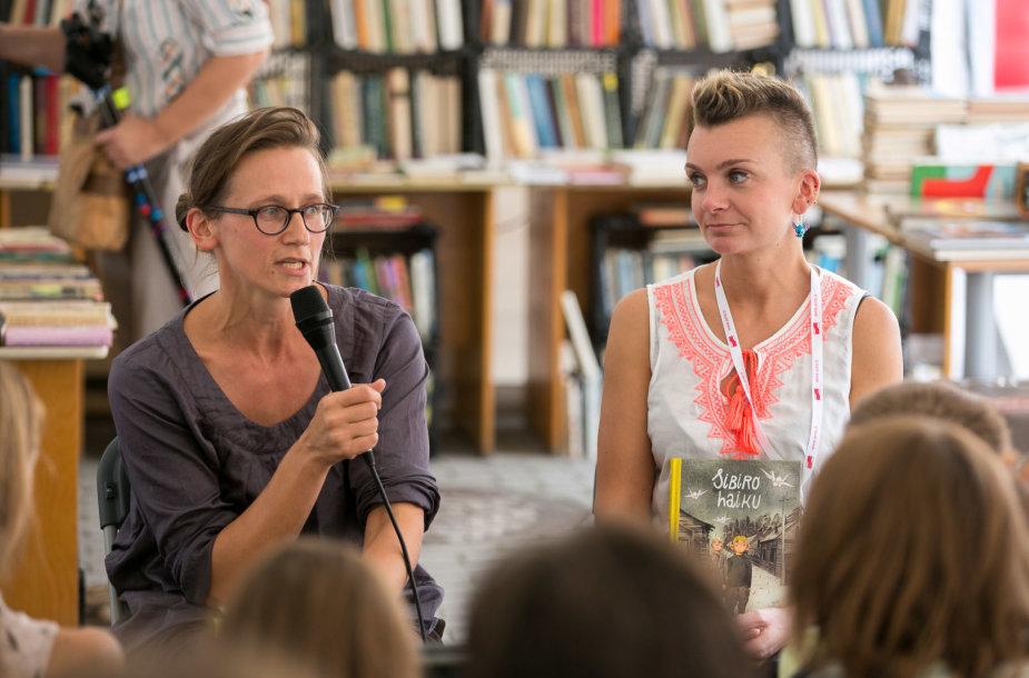 Jurga Vilė ir Lina Itagaki