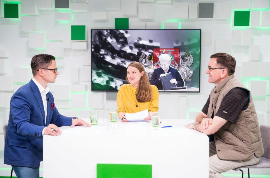 Arijus Katauskas, Liepa Želnienė ir Lauras Bielinis
