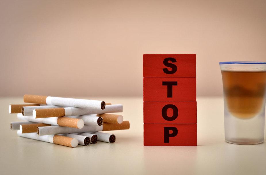 Rūkymas ir alkoholis