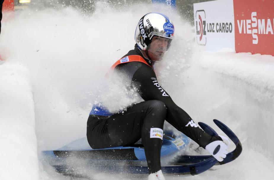 Siguldoje vyksta aukšto lygio bobslėjaus, skeletono ir rogučių varžybos.