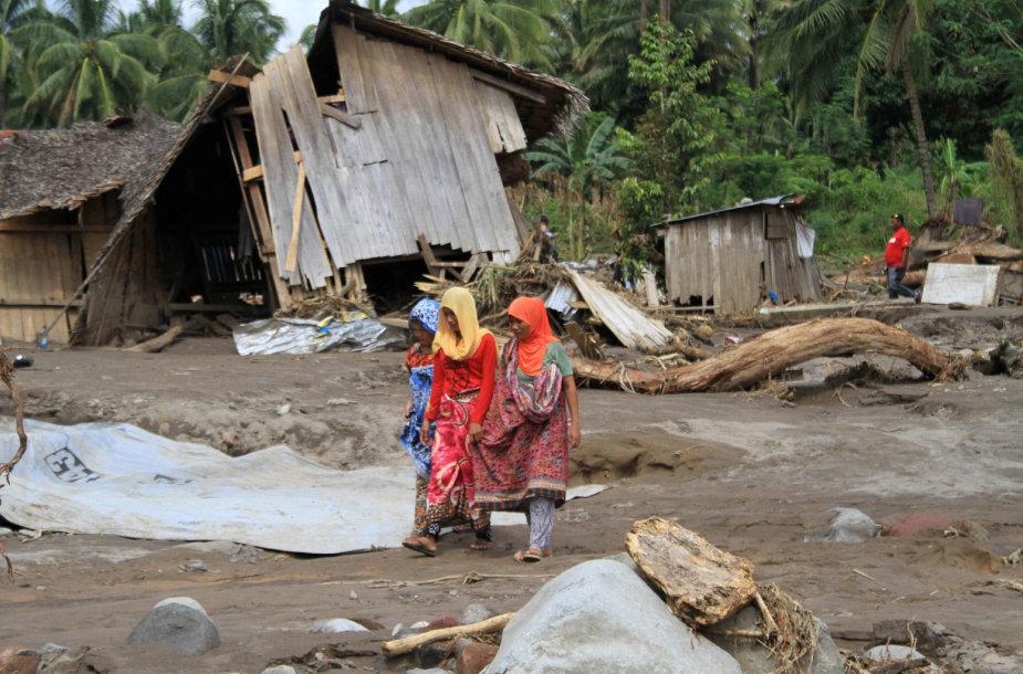Audros Filipinuose padariniai