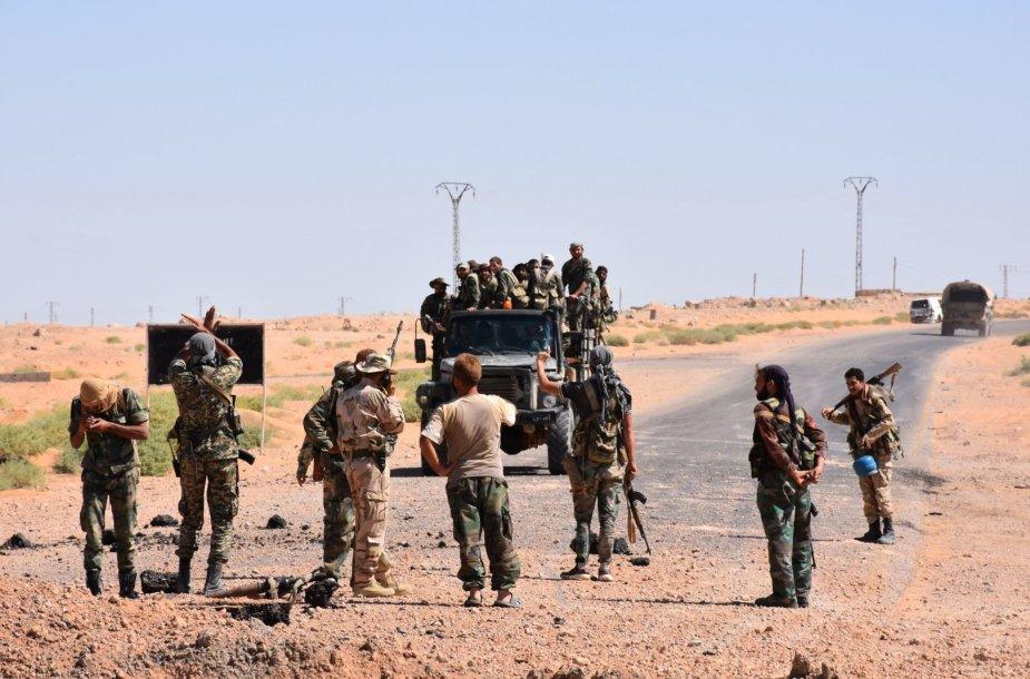 Sirijos vyriausybės pajėgos