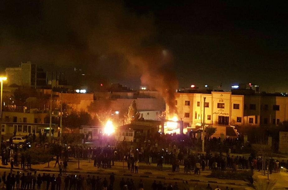 Irane vyko protestai prieš režimą