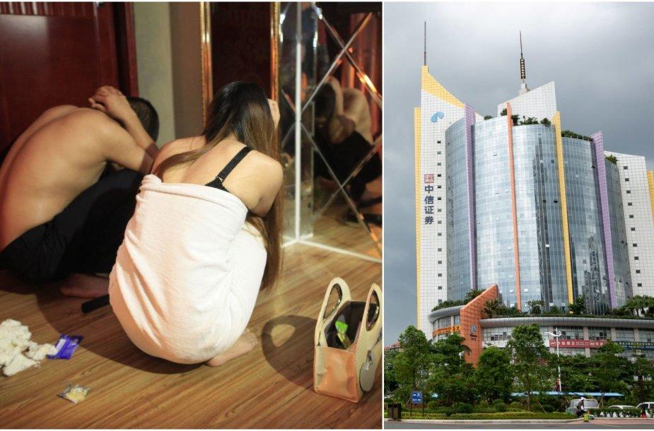 Donguanas vadinamas sekso industrijos lyderiu.