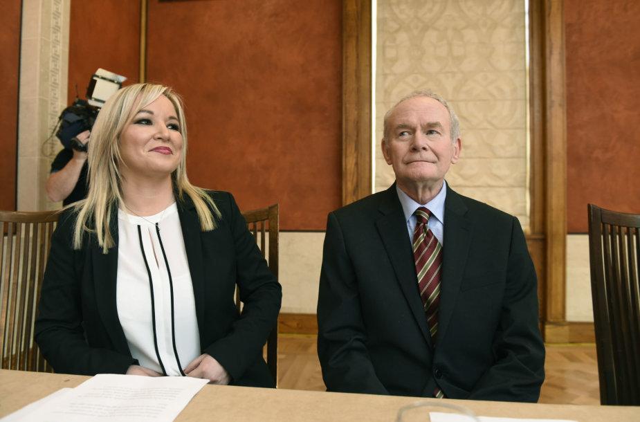 Michelle O'Neill ir Martinas McGuinnessas