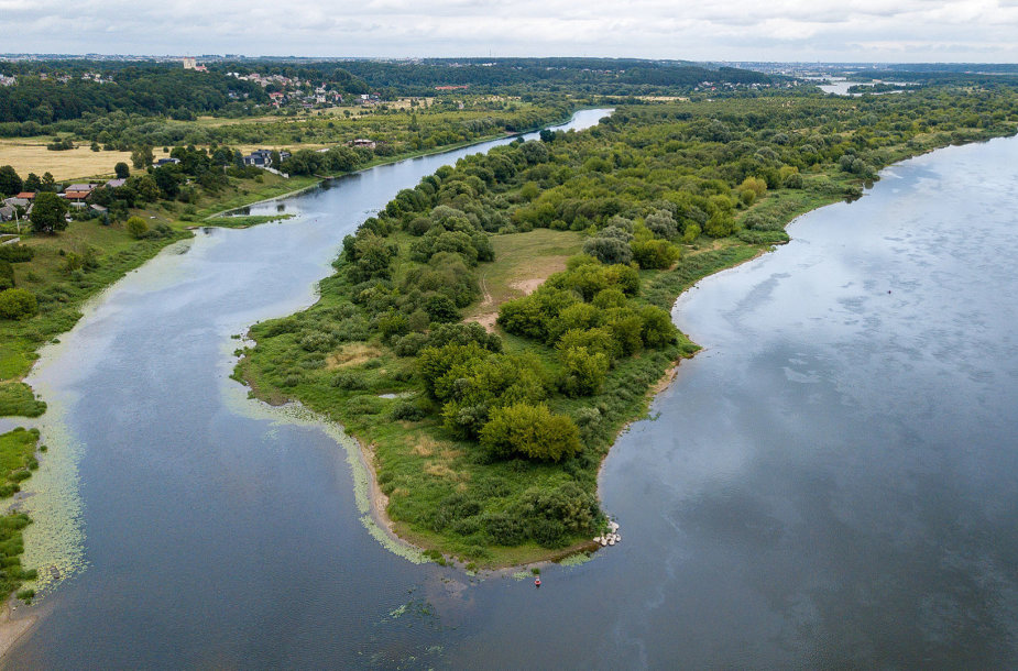 Kaune esančioje Nemuno ir Nevėžio upių santakoje netrukus prasidės tvarkymo darbai
